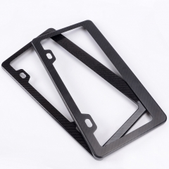 Custom decorative license plate frames for American market