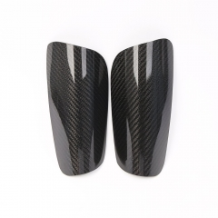 Hot Selling Carbon Fiber Soccer Shin Pads Lightweight Football Shin Pads Carbon Fiber Soccer Shinguard