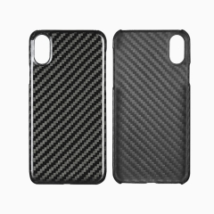 Carbon fiber phone case for iPhone X, XS, XR