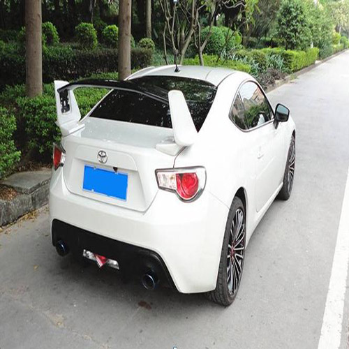 High-Performance Carbon Fiber Rear Spoiler for GT86/SUBARU BRZ
