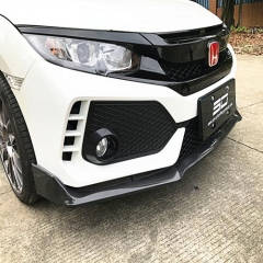 Carbon Fiber Front Bumper Lip for Honda Civic TYPE-R
