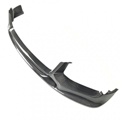 3D Design Style Carbon Fiber Front Bumper Lip for BMW 7 Series