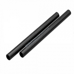 Different Type of Custom Size Black Carbon Fiber Round Tube