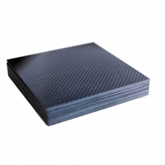 3K Twill Weave Custom Size Carbon Fiber Machining Block